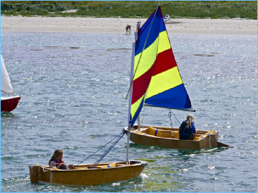 Rosehearty Optomist Dinghies